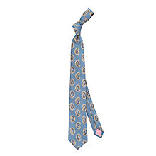 Buy Thomas Pink Faraday Paisley Woven Silk Tie Online at johnlewis.com