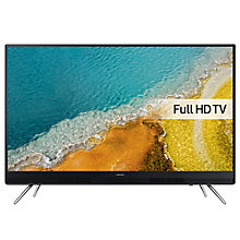 "Buy Samsung UE55K5100 LED Full HD 1080p TV, 55"" with Freeview HD & Joiiii Design  + Sound Bar with Wireless Subwoofer, Silver Online at johnlewis.com"