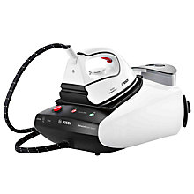 Buy Bosch TDS3512GB Sensixx Steam Generator Iron, White Online at johnlewis.com
