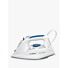 Buy Bosch TDA3010GB Steam Iron, Blue / White Online at johnlewis.com