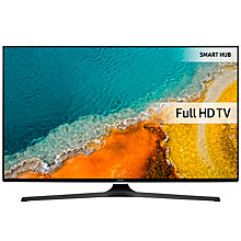 "Buy Samsung UE50J6240 LED Full HD 1080p Smart TV, 50"" with Freeview HD and Built-In Wi-Fi +  Wireless Sound Bar & Subwoofer, Black Online at johnlewis.com"