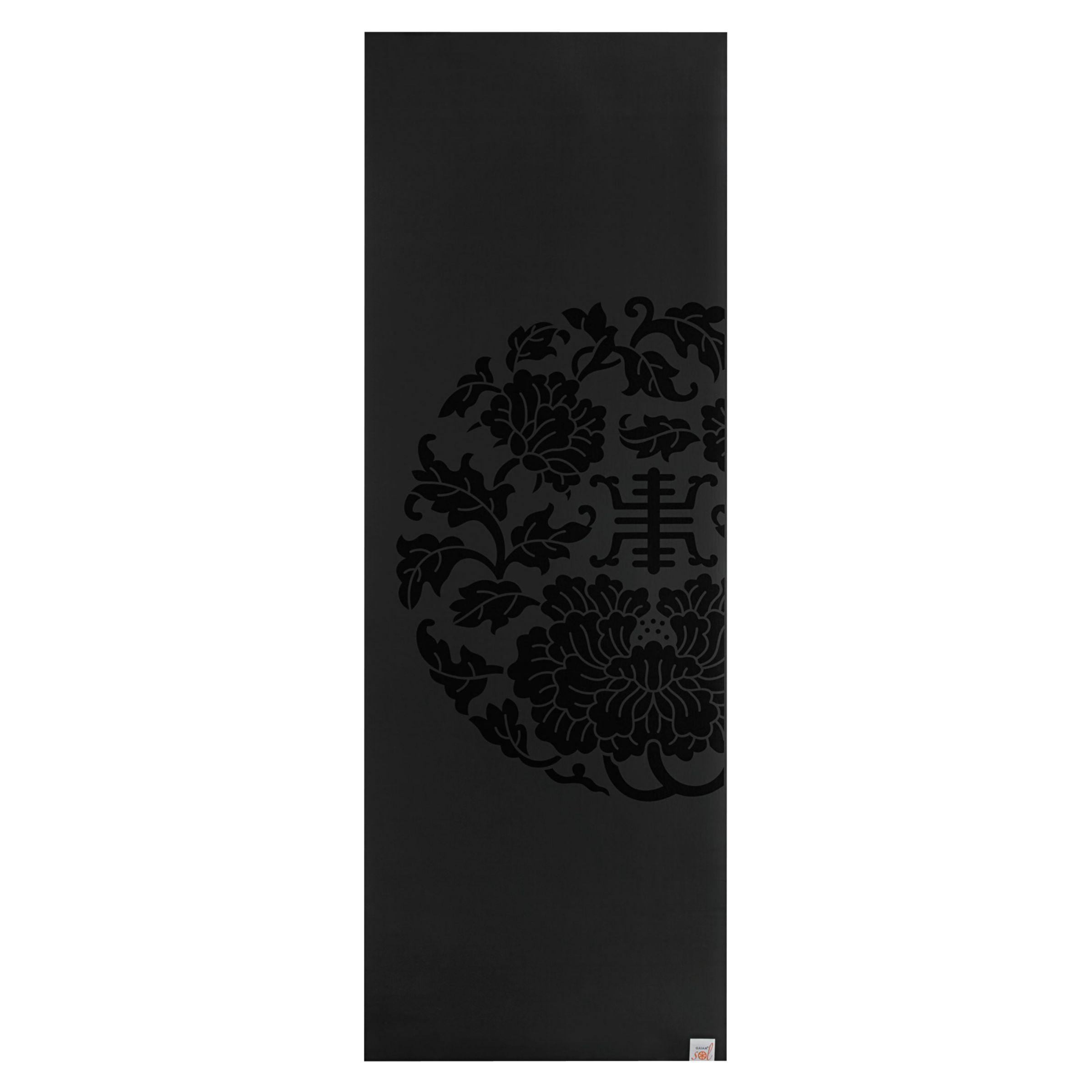 Gaiam Gaiam Dry Grip Yoga Mat, Black