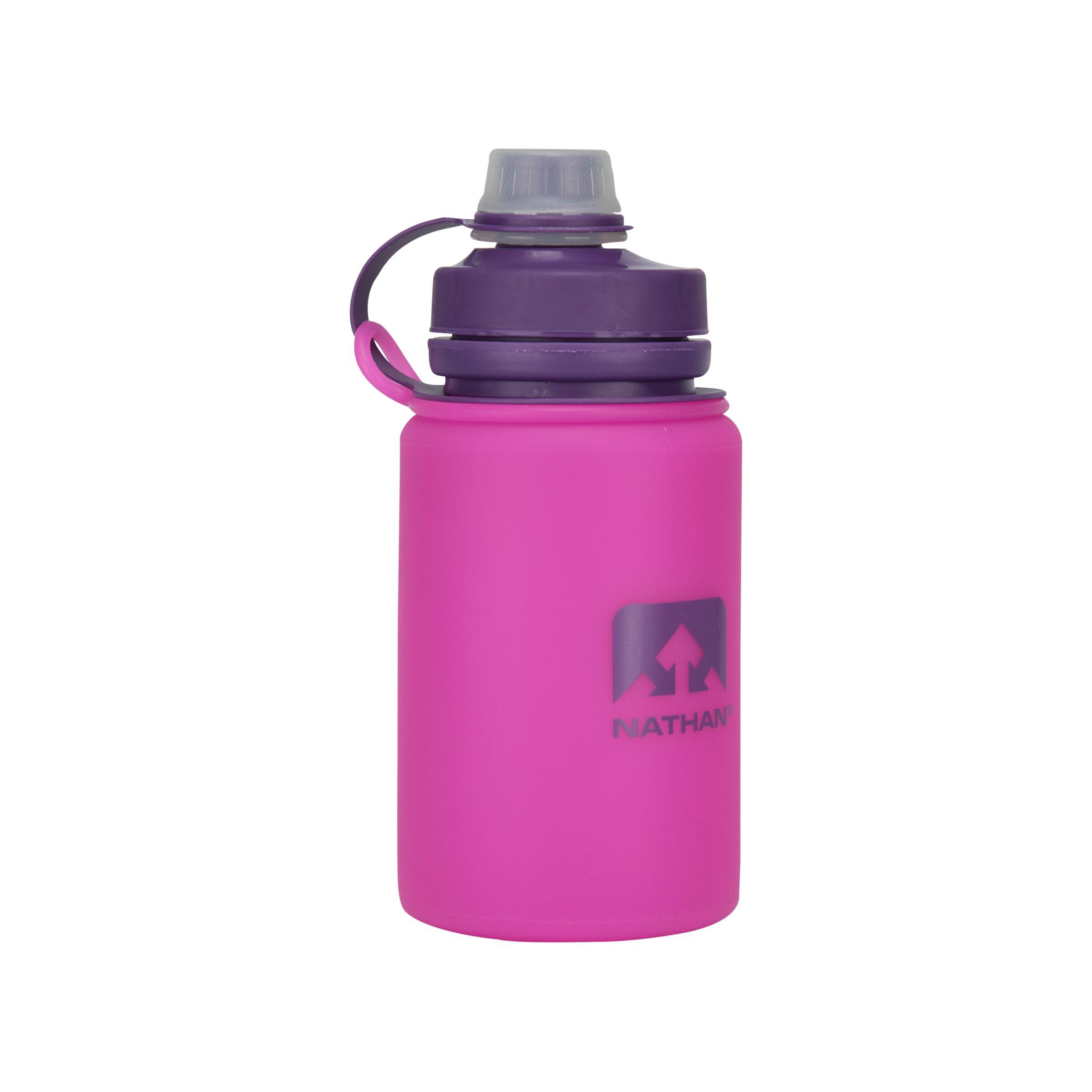 Nathan Nathan FlexShot Silicone Water Bottle, Pink, 750ml