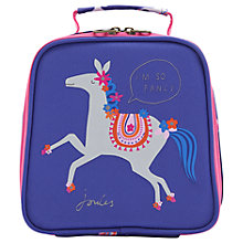 Buy Joules Carousel Lunchbox, Purple/Pink Online at johnlewis.com