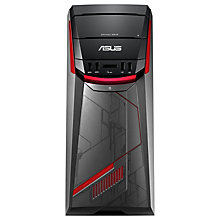 Buy ASUS G11CD Gaming Desktop PC, Intel i5, 8GB, 1TB HDD, GTX970 4GB and Microsoft Office Home and Student 2016, 1 PC, Lifetime Subscription Online at johnlewis.com