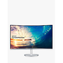 "Buy Samsung C27F591FDU Full HD Crystal Colour Curve Monitor, 27"" Online at johnlewis.com"