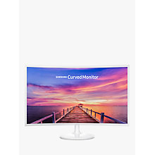 "Buy Samsung C32F391FWU Curved Full HD Monitor, 32"" Online at johnlewis.com"