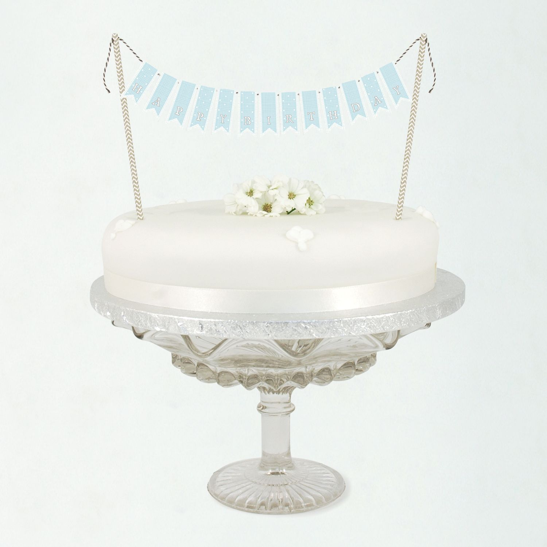 Buy East of India Birthday Cake Bunting Kit John Lewis