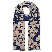 Buy Whistles Apples And Pears Scarf, Blue/Multi Online at johnlewis.com