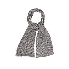 Buy Oasis Two Colour Textured Scarf Online at johnlewis.com