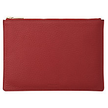 Buy Whistles Bubble Leather Medium Clutch Bag Online at johnlewis.com