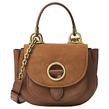 Buy MICHAEL Michael Kors Isadore Small Suede Messenger Bag Online at johnlewis.com