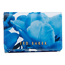 Buy Ted Baker 	Oleta Leather Coin Purse, White Online at johnlewis.com