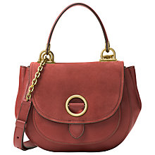 Buy MICHAEL Michael Kors Isadore Medium Suede Messenger Bag Online at johnlewis.com