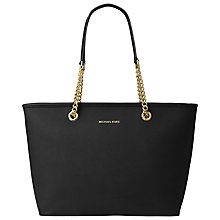Buy MICHAEL Michael Kors Jet Set Chain Leather Tote Bag Online at johnlewis.com