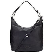 Buy MICHAEL Michael Kors Lupita Large Leather Hobo Bag Online at johnlewis.com