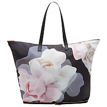 Buy Ted Baker Lorrcan Shopper Bag, Black Online at johnlewis.com