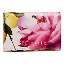 Buy Ted Baker 	Shanita Leather Coin Purse, Pale Pink Online at johnlewis.com