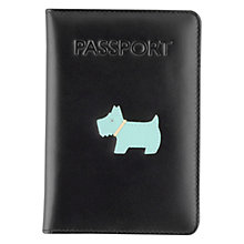 Buy Radley Heritage Dog Leather Passport Cover Online at johnlewis.com