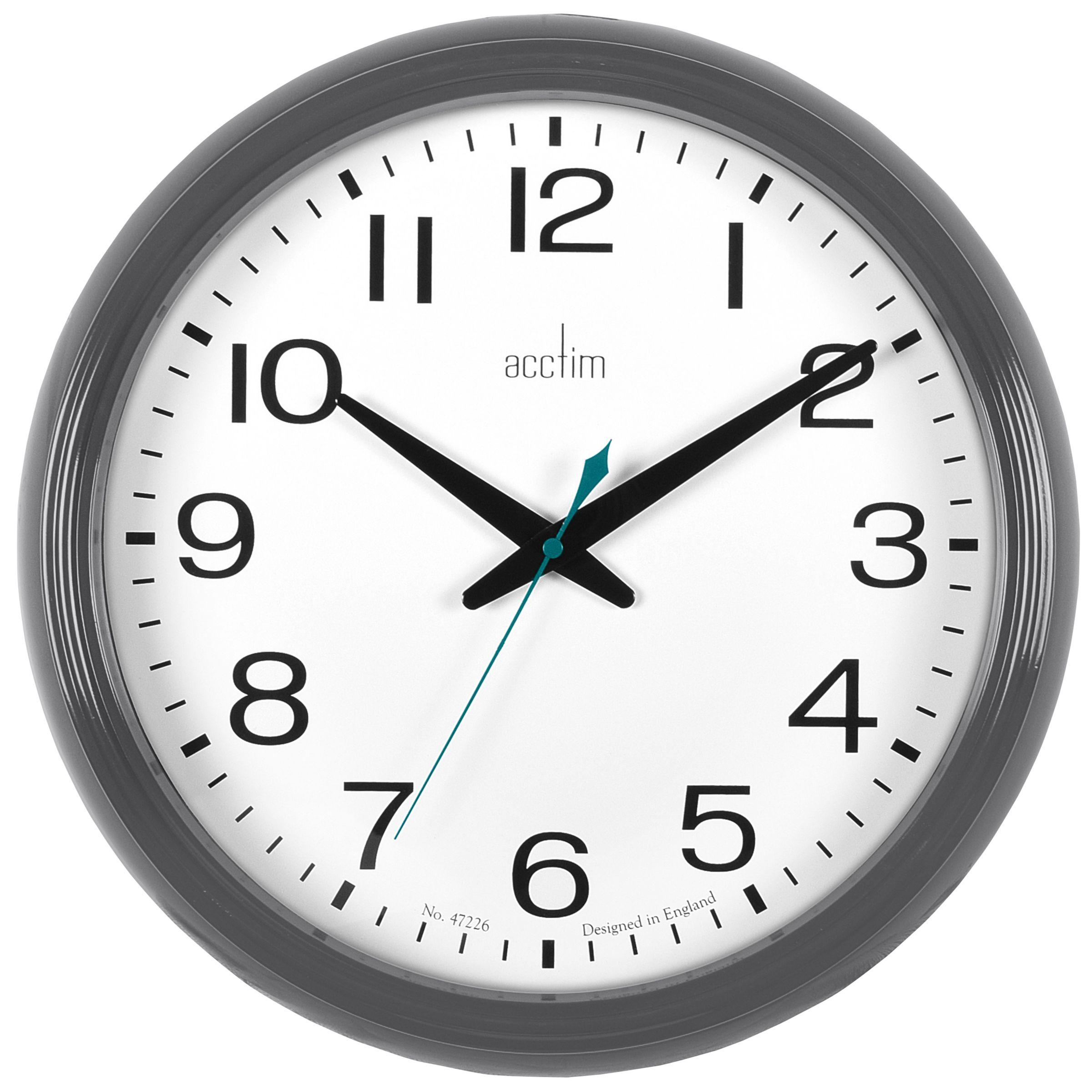 Acctim Acctim Penford Wall Clock, Dia.38cm