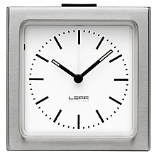 Buy LEFF Amsterdam Block Alarm Clock Online at johnlewis.com