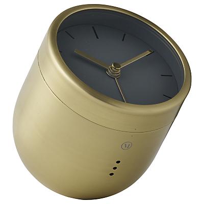 Image of Menu Norm Tumbler Clock, Brass