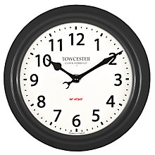 Buy Acctim Shelton Dusk Wall Clock, Dia.21.5cm Online at johnlewis.com