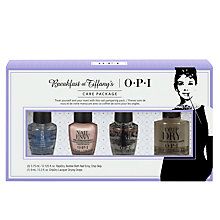 Buy OPI Breakfast At Tiffany's Care Package Mini Treatment Set Online at johnlewis.com