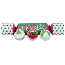 Buy Bomb Cosmetics Bath Blaster Bang Cracker, 3 x 160g Online at johnlewis.com