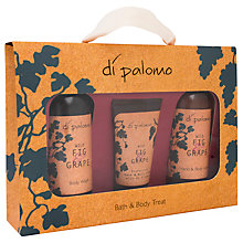 Buy Di Palomo Fig and Grape Bath and Body Gift Set Online at johnlewis.com