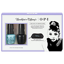 Buy OPI Breakfast At Tiffany's Duo Pack Online at johnlewis.com