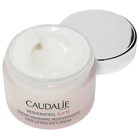 buy caudalie resveratrol face lifting soft cream 50ml john lewis. Black Bedroom Furniture Sets. Home Design Ideas
