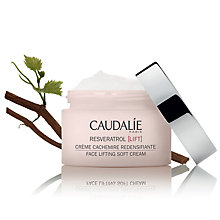 Buy Caudalie Resveratrol Face Lifting Soft Cream, 50ml Online at johnlewis.com