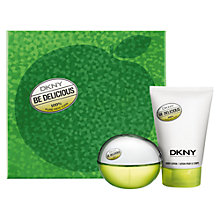 Buy DKNY Be Delicious 50ml Eau de Pafum Fragrance Gift Set Online at johnlewis.com