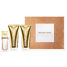 Buy Michael Kors Glam Jasmine 50ml Eau de Parfum Fragrance Gift Set Online at johnlewis.com