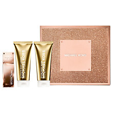 Buy Michael Kors Rose Radiant Gold 50ml Eau de Parfum Fragrance Gift Set Online at johnlewis.com