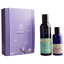 Buy Neal's Yard Relax English Lavender Organic Collection Online at johnlewis.com