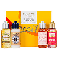 Buy L'Occitane Shower Gel Collection Online at johnlewis.com