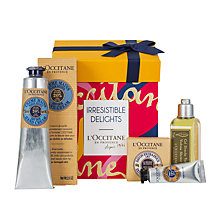 Buy L'Occitane Irresistible Delight Gift Set Online at johnlewis.com