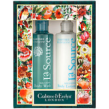 Buy Crabtree & Evelyn La Source Body Care Duo Online at johnlewis.com