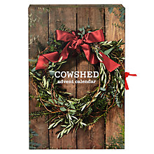 Buy Cowshed Deluxe Advent Calendar Online at johnlewis.com