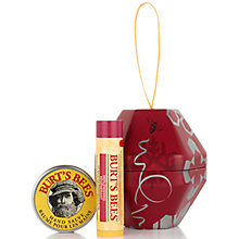 Buy Burt's Bees® Bee-inspired Pomegranate Gift Set Online at johnlewis.com