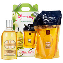 Buy L'Occitane Almond Shower Oil Duo Online at johnlewis.com