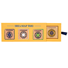 Buy L'Occitane Shea Soap Trio Online at johnlewis.com