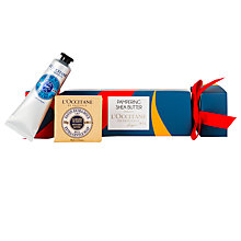 Buy L'Occitane Pampering Shea Butter Christmas Cracker Online at johnlewis.com