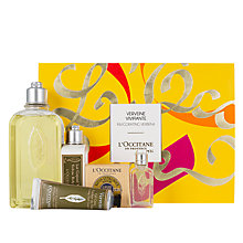 Buy L'Occitane Invigorating Verbena Gift Collection Online at johnlewis.com