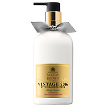 Buy Molton Brown Vintage 2016 with Elderflower Body Lotion, 300ml Online at johnlewis.com