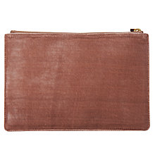 Buy Whistles Velvet Wristlet Online at johnlewis.com