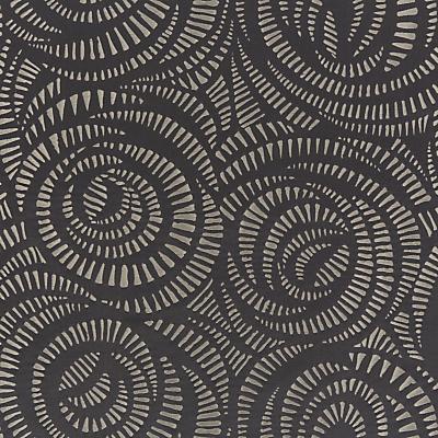Harlequin Fractal Furnishing Fabric, Charcoal