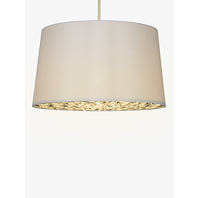 John Lewis Crystal Easy-to-Fit Diffuser Shade, Amber